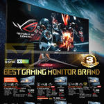 Monitors Gaming ROG PG348Q, PG248Q, PG27AQ, PG279Q, MG279Q, VG248QEJ