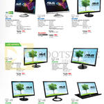 ASUS Monitors IPS LED MX27AQ, MX239HR, VS239HV, VS247HV, VS248HR, VS228NE, VX207DE, MB169B+