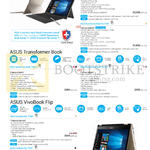 ASUS Notebooks Transformer Book Pro T303, T100HA, T101HA, VivoBook Flip TP301, TP201 Series