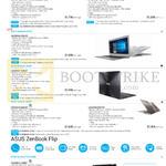 Notebooks Zenbook UX310, UX330, UX305, UX303, Flip UX360 Series