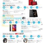 Tablets, Wearable Series, Zenpad C 7.0, 3 8.0, 8.0, Zenwatch 2