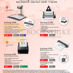Fujitsu Scanners ScanSnap IX100, IX500, S1300i, SV600