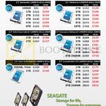Ace Peripherals Internal HDD Seagate Barracuda, NASworks, SSD 1TB, 2TB, 3TB, 4TB, 5TB, 6TB, 8TB