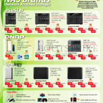 NAS Asustor, QNAP, Synology, AS-204T, 606T, 608T, QNAP TAS-168, TS-251C, TS-563, Synology DS216j, DS416, DS916Plus
