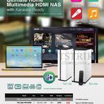 Ace Peripherals NAS QNAP Android TAS-168, TAS-268