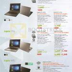 Notebooks Aspire E14 E15 E5-575G, E5-475G, F15 F5-573G, F5-373G, V15 V5-591G