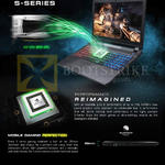 Aftershock Notebooks S-Series Features