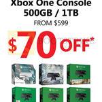 Xbox One Console 500GB, 1TB