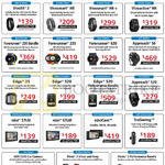 Convergent Garmin Activity Trackers, Watches Vivofit 3, Vivosmart HR, Plus, Vivoactive, Forerunner 230, 235, 630, Approach S6, S20, Edge 25 520, Nuvi 57LM 67LM, TruSwing,C530 Car Camera