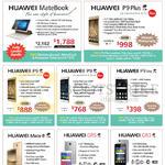 Huawei Tablets, Mobile SmartPhones, MateBook, P9 Plus, P9, P9 Lite, Mate 8, GR5, GR3