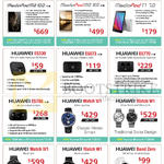 Huawei Tablets, Router, Powerbank, Watches, MediaPad M2 10.0, 8.0, T1 7.0, Mobile Wifi E5330, E5573, E5770, E5786, Watch W1, Band Zero