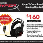 Convergent Kingston HyperX Headset Cloud Revolver Gaming