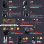 Cybermind Cooler Master Gaming Headsets, Mouse, Mousepads, Sirus-C, Pulse-R, Ceres-500 300, Resonar, Pitch Pro, Pitch, Xornet II, Sentinel III, Recon 4000, Mizar 8200 DPI, Reaper 8200 DPI
