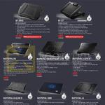 Cooler Master Notebook Coolers, SF-19v2, 17, Notepal X3, Ergostand Lite, X-Lite II, X-Slim II, I300, L1