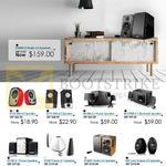 Edifier Speakers R12U, R19U, M1380, M1370BT, E3100, E3350 Prisma 2.1, R1280T Studio 2.0, E25 Luna Eclipse 2.0