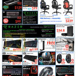 Keyboards, Gaming Chairs, Mouse, Headsets, GamePad, Speaker, Razer, Cooler Master, Steelseries