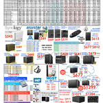 NAS, Hard Disk Drives, Synology, Asustor, Toshiba, WD, Western Digital, HGST
