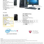 Dell Desktop PCs Inspiron 3000, XPS 8900 Desktop PCs