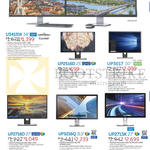 Monitors Curved UHD 4K U3415W, UP2516D, UP3017, UP2716D, UP3216Q, UP2715K
