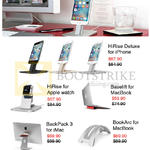 Epicentre 12South Apple Accessories, HiRise, BackPack, BookArc, Baselift