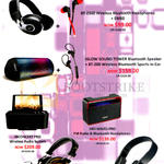 ISound Headphones, Speakers, Audio System, FM Radio, BT-2500, Iglow Sound Tower, BT-200, Inconcert Pro, Hifi Waves Pro, HM-270, BT-1050