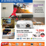 Epson Home Theatre Projector EH-TW5350, Free Gifts