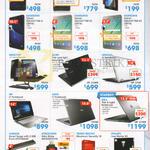 Notebooks, Desktop PC, ASUS Zenfone, Samsing, Acer, HP, Lenovo, Dell, Targus, Strontium, Trend Micro
