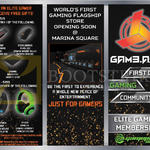 GamePro Elite Gamer Membership Free Gifts Thumbdrive, Mouse, Mousepro, Gaming Mouse, Headset