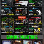 GamePro Monitors, Logitech, Steelseries, Razer, Plantronics, Roccat, Zotac, Dell, Samsung, G502, M260, Tyon, Siberia 100, G402, RIG Surround, Cloud II, G710, Leviathan
