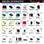 HP Accessories Mousepads, Mouse, Keyboards, Headphones, Sleeves, Power Banks