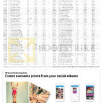 HP Inkjet Print Cartridges Pricelist