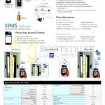 Virdi Unis Software IUnis, AC-F100 Features