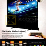 Innovative Wireless Projector Q4