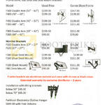 Inxus Solutions Gas Strut, Desk Mount Brackets, Tilting Brackets, Monitor, Clothes Hanger