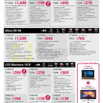 LG Notebooks, Monitors, 34UC98, 29UC88, 29UM68, 25UM58, 31MU97, 27UD88, 27UD68, 27MP58, 27MP38, 24MP88, 24MP58, 22MP48, 22M38