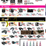 Lau Intl Isaw Action Camera Accessories, IDance, Bushnell Binoculars, Lollipod Tripods, Trophy XLT, Powerview