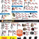 Velbon Vanguard Tripods, Aluminium, Video, Monopods, Carbon Fibre, Ballhead, Panhead