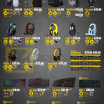 Leapfrog Armaggeddon Mouse, Backpack, Handgloves, Headphones, Keyboards, Havoc III, Panzer V, VR 1000, Trooper, Calibre, Fuze 3c, 5, Pulse 5, 7, AK-333S, 566I, 990I