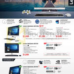 Lenovo Desktop PCs All-in-One AIO IdeaCentre 510s, 510, 910