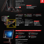 Desktop PCs Gaming IdeaCentre Y900, Y710 Cube, Y27G Monitor