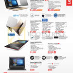 Notebooks IdeaPad 710s Plus, 710s, 510s, 100s