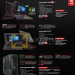 Lenovo Notebooks IdeaPad Y900, Y700, Desktop PC Razer Y900RE