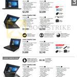 Lenovo Notebooks ThinkPad Classic T460s, T460, X260, Edge E460