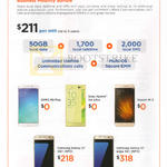 Business Mobility Bundle, Mobile Phones Oppo R9 Plus, Sony Xperia ZA Ultra, Xiaomi Mi 5, Samsung Galaxy S7, S7 Edge