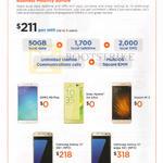 Business Mobility Bundle, Mobile Phones Oppo R9 Plus, Sony Xperia ZA Ultra, Xiaomi Mi 5, Samsung Galaxy S7, S7 Edge