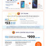 M1 Business Solutions Bundle, SIP Trunk, Data Centre Solutions, Free Samsung Galaxy J1 2016, Tab A 7