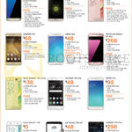 Mobile Phone Deals Samsung Galaxy S7 Edge, S7, LG G5, Stylus 2 Plus, Sony Xperia X, XA Ultra, XA, Huawei P9, P9 Plus, Oppo R9, F1s