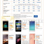 M1 MySIM Plans, Phone Deals, Credit Card Instalment Plans MySIM Plus, ZTE Blade V7 Lite, Huawei GR3, Oppo A37, Sony Xperia XA, LG X Screen, Xiaomi Redmi Note 3