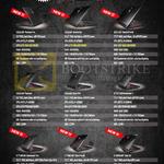 Notebooks Phantom Pro GS43, Stealth GS63, 4K GS73, GS40, Ghost GS60, Dominator G GT72S, GT72VR, Titan Pro GT73VR, SLI GT83VR