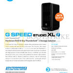 G-Technology G Speed Studio XL Thunderbolt